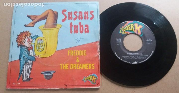 FREDDIE & THE DREAMERS SUSANS TUBA / SINGLE 7 INCH (Música - Discos - Singles Vinilo - Pop - Rock - Internacional de los 70)