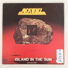 Discos de vinilo: ALCATRAZZ. ISLAND IN THE SUN.. Lote 288600213