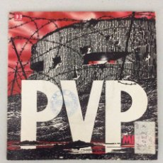Discos de vinilo: PVP. MIEDO. TACÓN Y CUERO.. Lote 288602023