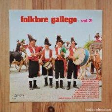 Discos de vinilo: FOLKLORE GALLEGO VOL.2 VARIOS VINILO LP GALICIA MUSICA GALEGA CELTA. Lote 288602903