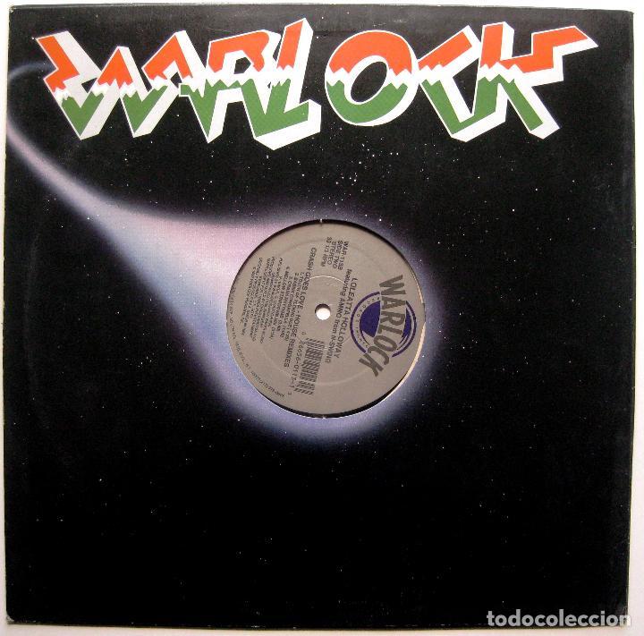 Discos de vinilo: Loleatta Holloway feat Ammo From N-Swing - Crash Goes Love House Remixes - Maxi Warlock 1992 USA BPY - Foto 2 - 288602983
