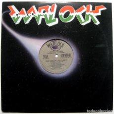 Discos de vinilo: LOLEATTA HOLLOWAY FEAT AMMO FROM N-SWING - CRASH GOES LOVE HOUSE REMIXES - MAXI WARLOCK 1992 USA BPY. Lote 288602983