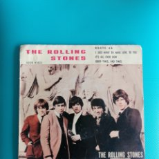 Discos de vinil: THE ROLLING STONES - ROUTE 66-I JUST WANT TO MAKE LOVE TO YOU-IT'S ALL OVER NOW-GOOD TIMES-BAD TIMES. Lote 288603258