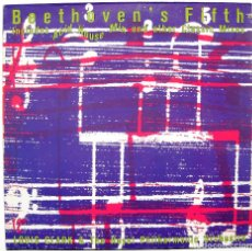 Discos de vinilo: LOUIS CLARK & THE ROYAL PHILHARMONIC ORCHESTRA - BEETHOVEN'S FIFTH - MAXI ARISTA 1989 BPY. Lote 288603363