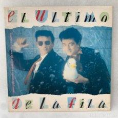 Discos de vinilo: LP EL ÚLTIMO DE LA FILA - NUEVO PEQUEÑO CATÁLOGO DE SERES Y ESTARES + ENCARTE - ESPAÑA - AÑO 1990. Lote 288605663