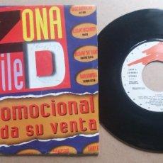 Discos de vinilo: ZONA DE BAILE (VOL 3) MIX 1 / SINGLE 7 INCH PROMO. Lote 288606073