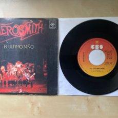 "Discos de vinilo: AEROSMITH - LAST CHILD (EL ÚLTIMO NIÑO) - SINGLE 7"" SPAIN 1976. Lote 288607443"
