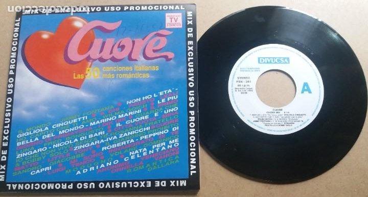 CUORE MIX / SINGLE 7 INCH (Música - Discos - Singles Vinilo - Canción Francesa e Italiana)