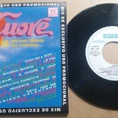 Discos de vinilo: CUORE MIX / SINGLE 7 INCH. Lote 288608708