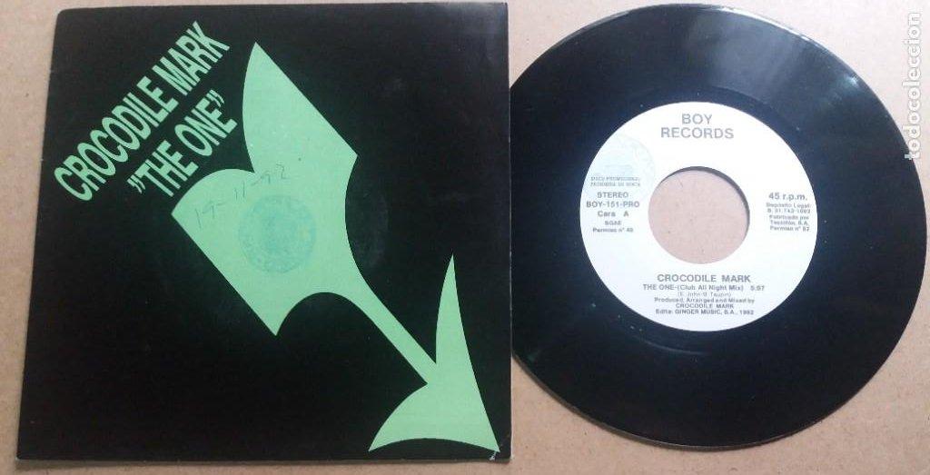 CROCODILE MARK / THE ONE / SINGLE 7 INCH (Música - Discos - Singles Vinilo - Pop - Rock Internacional de los 90 a la actualidad)