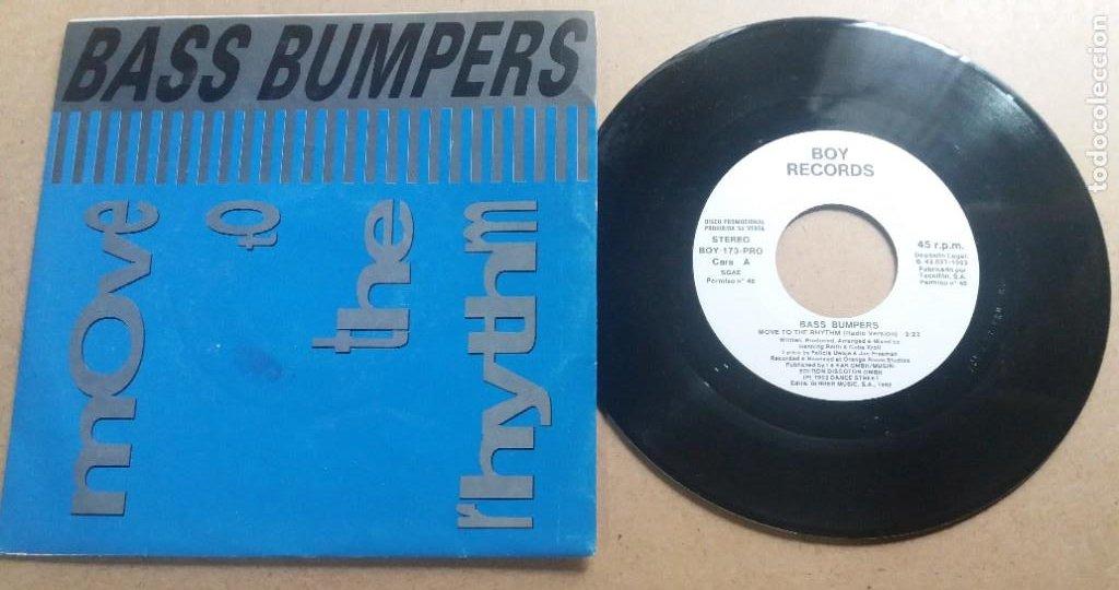 BASS BUMPERS / MOVE TO THE RHYTHM / SINGLE 7 INCH (Música - Discos - Singles Vinilo - Pop - Rock Internacional de los 90 a la actualidad)