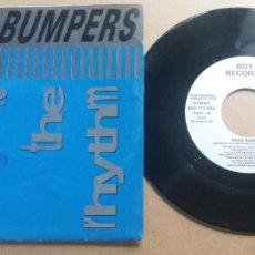 Discos de vinilo: BASS BUMPERS / MOVE TO THE RHYTHM / SINGLE 7 INCH. Lote 288611368