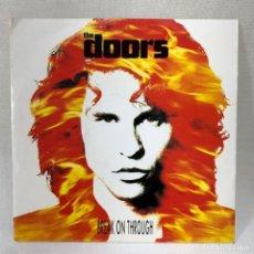 Discos de vinilo: SINGLE THE DOORS - BREAK ON THROUGH - ALEMANIA - AÑO 1991. Lote 288612413