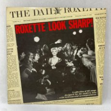 Discos de vinilo: LP - VINILO ROXETTE - LOOK SHARP! + ENCARTE - ESPAÑA - AÑO 1989. Lote 288613083
