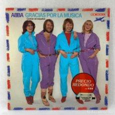 Discos de vinilo: LP - VINILO ABBA - GRACIAS POR LA MÚSICA - ESPAÑA - AÑO 1974. Lote 288613343