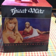 "Discos de vinilo: GREAT WHITE - ONCE BITTEN / SINGLE 7"" 1989 USA CAPITOL-. NM-NM. Lote 288613703"