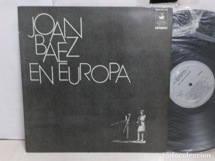 Discos de vinilo: JOAN BAEZ. EN EUROPA --HISPAVOX--MADRID--1972-- - Foto 2 - 288614078