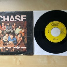 "Discos de vinilo: CHASE - GET IT ON - SINGLE 7"" SPAIN 1971. Lote 288614118"