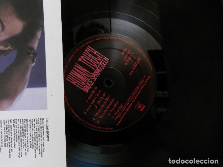 Discos de vinilo: BRUCE SPRINGSTEEN--HUMAN TOUCH--SPAIN--1992--CBS SONY-- - Foto 3 - 288614828