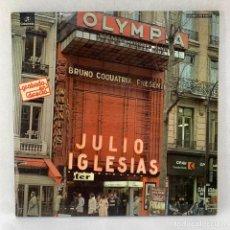 Discos de vinilo: LP - VINILO JULIO IGLESIAS - EN EL OLYMPIA - DOBLE PORTADA - ESPAÑA - AÑO 1976. Lote 288615003