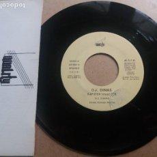 Discos de vinil: D.J. DIMAS / RAP STEW / SINGLE 7 INCH. Lote 288615978