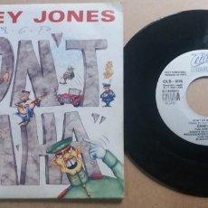 Discos de vinilo: CASEY JONES / DON'T HA HA / SINGLE 7 INCH. Lote 288617048