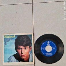 Discos de vinilo: RAPHAEL - ESTUVE ENAMORADO - SINGLE - SPAIN - PR -. Lote 288617228