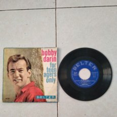 Discos de vinilo: BOBBY DARIN - FOR TEEN AGERS ONLY. Lote 288618458
