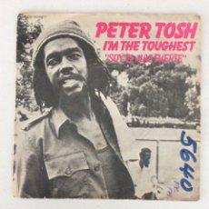 Discos de vinilo: PETER TOSH. I'M THE TOUGHEST. SOY EL MÁS FUERTE.. Lote 288621078
