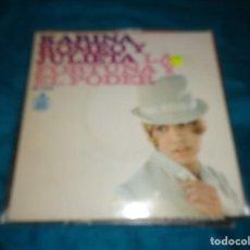 Discos de vinilo: KARINA. ROMEO Y JULIETA / LA FORTUNA Y EL PODER. HISPAVOX, 1967 .IMPECABLE. Lote 288621338