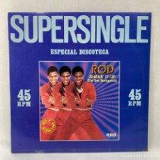 Discos de vinilo: MAXI SINGLE ROD - SHAKE IT UP - ESPAÑA - AÑO 1981. Lote 288621428