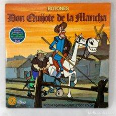 Discos de vinilo: LP - VINILO BOTONES - DON QUIJOTE DE LA MANCHA - DOBLE PORTADA - ESPAÑA - AÑO 1979. Lote 288622468