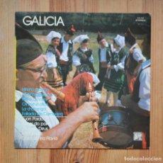 Discos de vinilo: GALICIA JUAN PARDO LOS TAMARA JOAQUÍN DEUS... 1977 VINILO LP CELTA MUSICA GALEGA. Lote 288625758