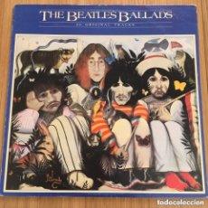 Discos de vinilo: THE BEATLES BALLADS LP EDIC ESPAÑA DISCO EXC ***ENVIOS GRATIS PEDIDOS +30€. Lote 288630798