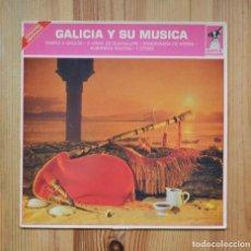 Discos de vinilo: GALICIA Y SU MUSICA 1985 CORALES GAITEIROS VINILO LP CELTA GALEGA. Lote 288631648