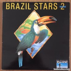 Discos de vinilo: BRAZIL STARS VOLUME 2 DOBLE LP EDIC FRANCIA DISCOS COMO NUEVOS. Lote 288631703