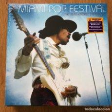 Discos de vinilo: JIMI HENDRIX EXPERIENCE - MIAMI POP FESTIVAL - LP DOBLE SONY LEGACY NUEVO. Lote 288631943