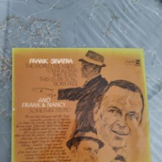 Discos de vinilo: VINILO ALBUM UK - FRANK AND NACY SINATRA - SOMETHING STUPID - REPRISE RECORDS. Lote 288634638