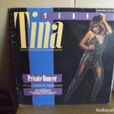 Discos de vinilo: TINA TURNER ---- PRIVATE DANCER - MAXI SINGLE. Lote 288637423