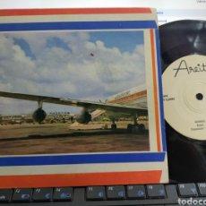 Discos de vinilo: GRUPO LOS LLAMAS SINGLE CUIDADO AMOR CUBA AREITO. Lote 288637958