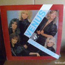 Discos de vinilo: VENUS ---- AMOR PASAJERO - MAXI SINGLE. Lote 288639398