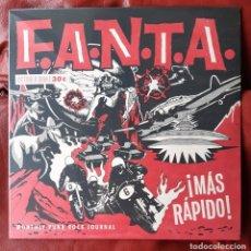 Discos de vinilo: F.A.N.T.A. - ¡MÁS RÁPIDO! LP. Lote 288639443