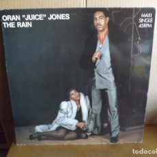 Discos de vinilo: ORAN JUICE JONES --- THE RAIN - MAXI SINGLE. Lote 288640153