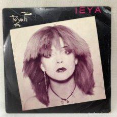 Discos de vinilo: SINGLE TOYAH - LEYA - UK - AÑO 1980. Lote 288648733