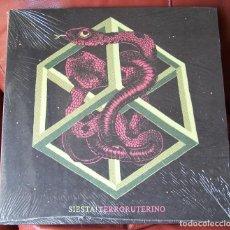 Discos de vinilo: SIESTA - TERRORUTERINO LP. Lote 288649323
