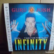Discos de vinilo: GURU JOSH --- INFINITY - MAXI SINGLE. Lote 288650548