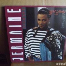 Discos de vinilo: JERMAINE STEWART --- GET LUCKY - MAXI SINGLE. Lote 288650813