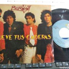 Discos de vinilo: BURNING SINGLE MUEVE TUS CADERAS ESPAÑA 1979. Lote 44442406