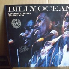 Discos de vinilo: BILLY OCEAN --- LOVE REALLY HURTS WITHOUT YOU - MAXI SINGLE. Lote 288652113