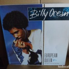 Discos de vinilo: BILLY OCEAN --- EUROPEAN QUEEN - MAXI SINGLE. Lote 288652333